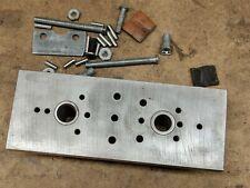 Gunsmithing shotgun stock recoil pad mounting drilling jig tool fixture