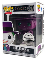 Funko Pop #337 Purple Diamond The Joker Batman Funhouse Custom Exclusive 1/20