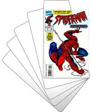 "(100) Comic Book Bin Index Divider Cards - Sloped 7""x12"" - White Eco 20mil Thick"
