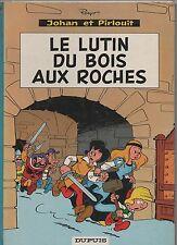 PEYO. Le Lutin du Bois aux Roches. Dupuis 1967. Dos rond pelliculé bleu.