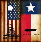 Cornhole Wraps Molon Labe Texas Flag and Don't Tread on Me American Flag Combo