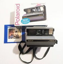 Vintage 1991 Polaroid Spectra AF Instant Camera With Box & Manual