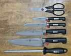 Zwilling J.A.HENCKELS Four Star 6 Pieces KNIFE Set NEW