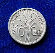 MONNAIE 10 Cts INDOCHINE FRANçAISE 1945