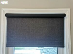 Blackout Roller Blinds Custom Size/Made (40-300)x210cm Beautiful Fabric  On Sale