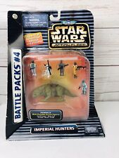 Micro Machines: 1996 Star Wars Action Fleet Battle Pack #4: Imperial Hunters NIP