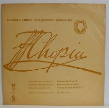 "FRYDERYK CHOPIN POLONAISEN HALINA CZERNY-STEFANSKA JAN EKIER 12"" LP (e492)"