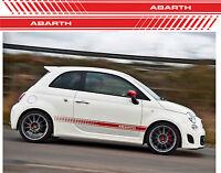 ADESIVO FASCIA ABARTH ADESIVI fasce FIAT 500 FASCE LATERALI cod174