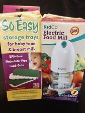 KidCo Babysteps F900 Corded Electric Baby Food Mill