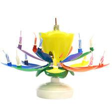 NEW - The ORIGINAL Amazing Birthday Candle - Rainbow FREE SHIPPING