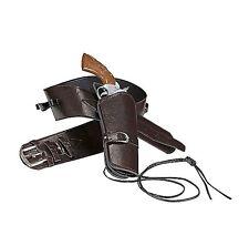 CINTURONE CON FONDINA Carnevale Cow Boy Pistola Sceriffo Arma Fucile Western