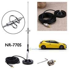 770S Antenna+Magnetic Mount Base UHF-M Cable+Connector for Car Taxi Mobile Radio