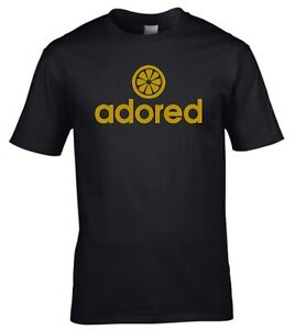 Adored Indie Rock stone roses Music Mens Black T-Shirt