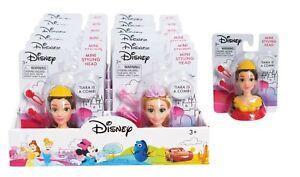 2 X Disney Princess Mini Styling Head Belle & Rapunzel Figures Pair Bargain Toys