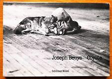 CAROLINE TISDALL - JOSEPH BEUYS COYOTE - 1976 1ST EDITION & 1ST PRINTING - FINE