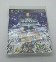 Kingdom Hearts HD 2.5 ReMIX PS3 PlayStation 3 (Black Label) BRAND NEW Sealed