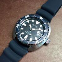 SEIKO Prospex MINI Turtle SRPC37K1 Automatic 200m Diver Black Resin 2018 !