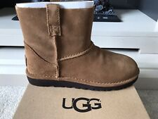 UGG Classic Mini Unlined Womens Boots Chestnut Size UK 4.5 Eur 37