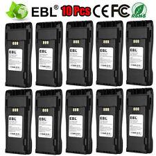 10x 2500mAh Nntn4496Ar Nntn4851 Battery for Motorola Mototrbo Cp360 Cp340 Cp200D