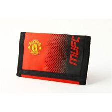 Manchester United FC Portefeuille Fade Design-Nylon Officiel Football Club Neuf