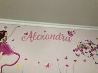 Personalized Wall Sticker Decal Vinyl Name Home Decor Boys Girls Choose Any Name