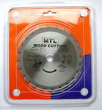 MTL 165mm x 16mm TCT Circular Saw Blade, Thin Kerf Sawblade for Cordless Saws