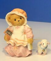 """Cherished Teddies RARE Mary Bear Had A Little Lamb """"I'll Always Be By Your Side"""""""