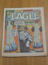 EAGLE 25TH AUGUST 1984 #127 BRITISH WEEKLY IPC MAGAZINE