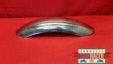 CRM7c STYLE CAFE RACER STAINLESS STEEL MUDGUARD