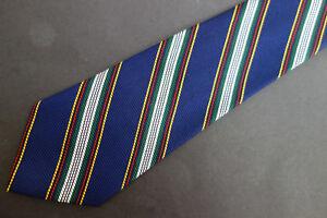 NWOT Brooks Brothers Boys Navy Stripe Silk Tie  MSRP $44.50