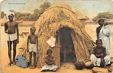 BR62444 hut of a paria family types folklore india
