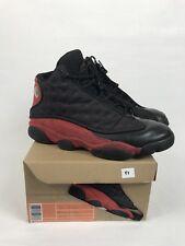 """2013 Air Jordan Retro XIII(13) """"Bred"""" Sneakers Size 10 W/Rep Box 414571-010"""