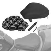 Motorcycle Air Cushion Pad Seat Cruiser Pressure Relief For Touring Saddle