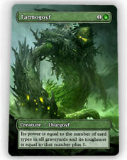 == 4X Tarmogoyf X4 == Full Art Borderless == Magic Lotus Cards