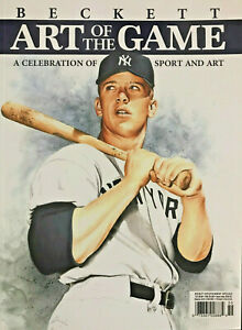 New 2021 Beckett Special Art Of The Game Magazine With Mickey Mantle