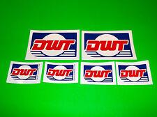 DWT DOUGLAS WHEEL ATV UTV CART BUGGY QUAD OFFROAD TIRES RACING DECALS STICKERS