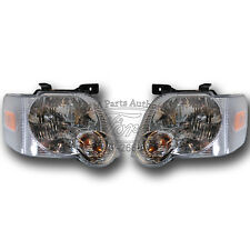 OEM NEW 2006-2010 Ford Explorer Headlights Lamps PAIR Left Right Lamps Both Set