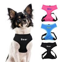 Personalisiertes Bestickt Hundegeschirr Mit Name Gravur Welpengeschirr S M L XL