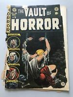 Vault of Horror (1950 E.C. Comics) #39 Spine Split Poor Condition Complete