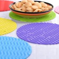 Silicone Tableware Dining Pad Table Kitchen Placemat Insulation Pad CL