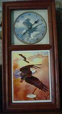 Eagle Clock with Decorative season Plates*