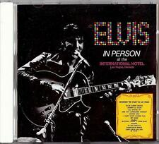 ELVIS PRESLEY - IN PERSON AT THE INTERNATIONAL HOTEL  CD  1992  BMG  RCA