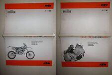 KTM MY 2004 125 SX-125 EXC-200 SX-200 EXC Ersatzteilkatalog Spare parts manual