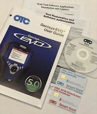 OTC 700-6202 GENISYS EVO 2012 DOM/ASIAN, 2011 EUROPEAN SMART CARD & CD SOFTWARE