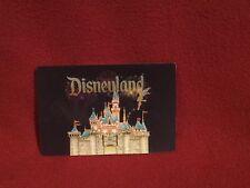 Disneyland Cinderella Castle With Tinker Bell Lenticular Post Card 2009