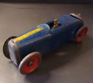 Vintage 1930'S MARX TIN WIND-UP RACERS