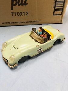 ASTON MARTIN DB7 IN LATTA TIN TOY MADE IN CHINA VERY OLD STYLE