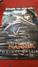DISNEY CHRONICLES OF NARNIA PRINCE CASPIAN LARGE MOVIE CINEMA BANNER 5FT / 8FT