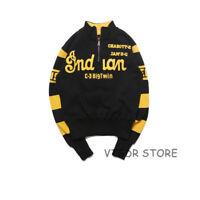 Vintage Embroidery Pullover 1940s Motorcycle Sweatshirt Mens Racing Jersey Biker