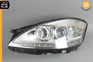 10-13 Mercedes W221 S400 S550 Left Driver Side Headlight Lamp Bi-Xenon OEM